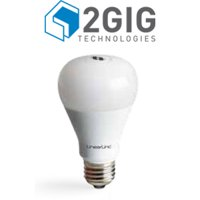 GoControl Dimmable White Smart A19 Light Bulb, 60W Equivalent, Hub Required