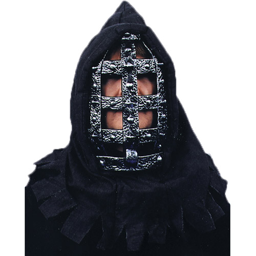 Iron Head Mask Halloween Accessory
