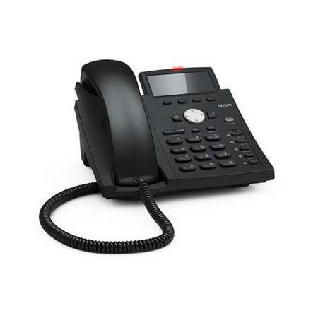 Snom Technology D305 4 Line Dis 5 Function Key 4257 Sip Phone