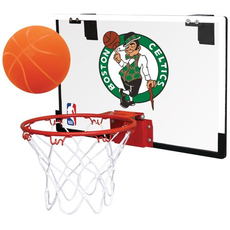 Rawlings NBA Game On Basketball Hoop Set, Boston Celtics