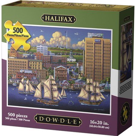 Dowdle Folk Art Halifax Jigsaw Puzzle - image 1 of 2