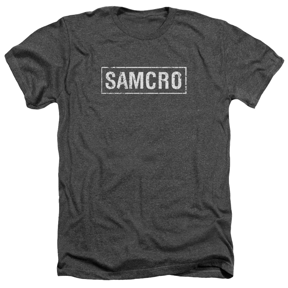 Sons Of Anarchy Men's  Samcro T-shirt Charcoal