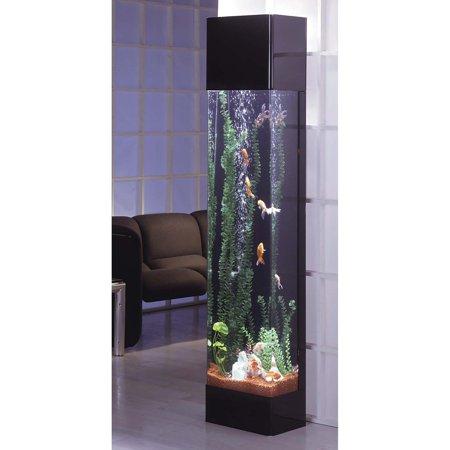Keeping Tropical Fish - Midwest Tropical Rectangle Aqua 30 Gallon Tower Aquarium
