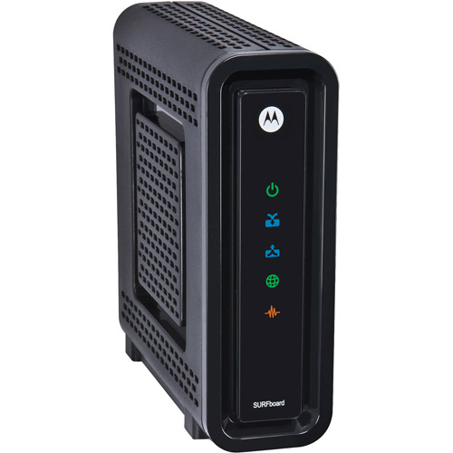 Motorola ARRIS SURFboard SB6121 DOCSIS 3.0 Cable Modem  (Black,Retail Packaging)