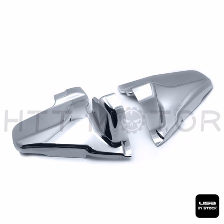 HTTMT- Chrome Engine Lower Side Frame Covers For Honda Goldwing GL1800 2001-2011 02 03