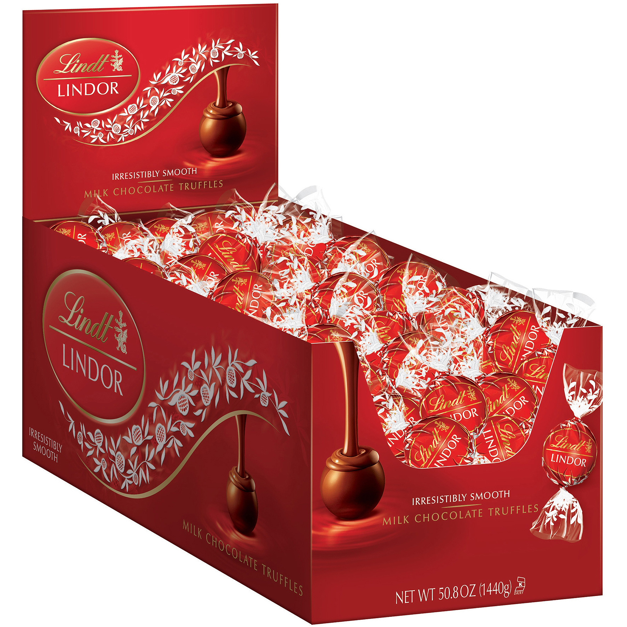 Lindor Milk Chocolate Truffles, 50.8 oz