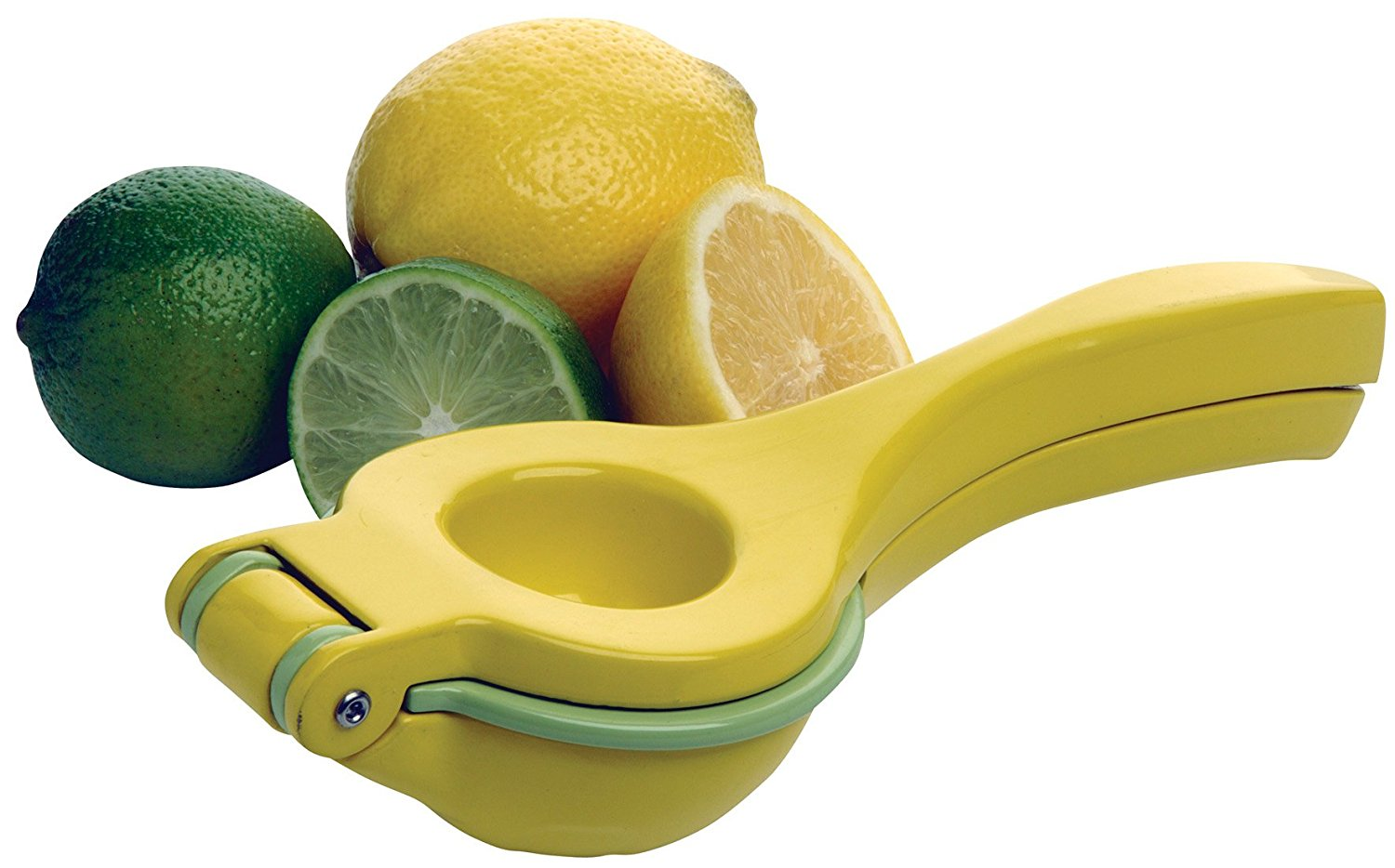 8-Inch Two-in-One Citrus Squeezer (8720), Amco's 2-in-1 juicer works with lemons or limes... by