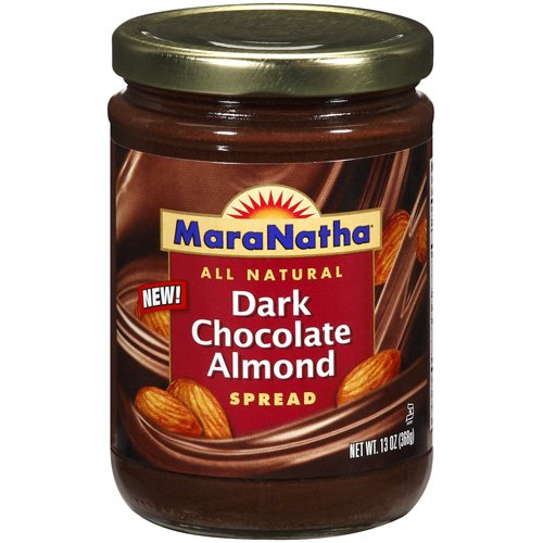 Maranatha All Natural Dark Chocolate Almond Spread, 13 oz