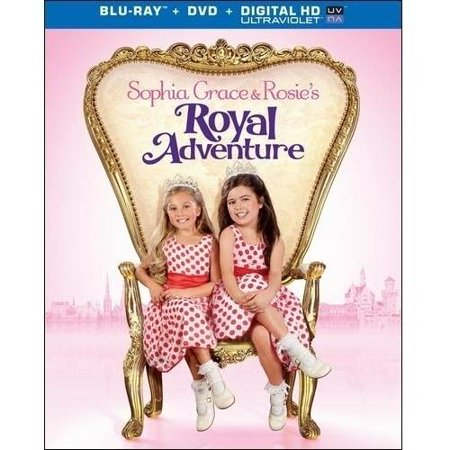 Sophia Grace And Rosies Royal Adventure  Blu Ray   Dvd   Digital Hd With Ultraviolet   With Instawatch   Widescreen