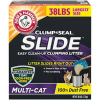 Arm & Hammer SLIDE Easy Clean-Up Litter, Multi-Cat (Multiple Sizes)