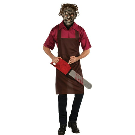 Rubie`s Costume The Texas Chainsaw Massacre Halloween Sensations Leatherface Multicolor Standard Costume