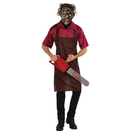 Rubie's Costume The Texas Chainsaw Massacre Halloween Sensations Leatherface Multicolor Standard Costume - Frontier Texas Halloween