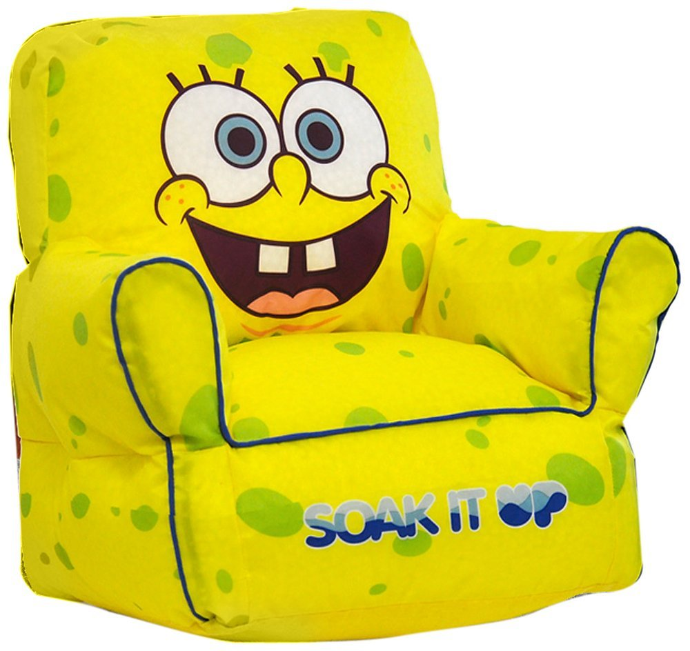 c60dd064072 Nickelodeon SpongeBob SquarePants Toddler Beanbag Chair by Idea Nuova