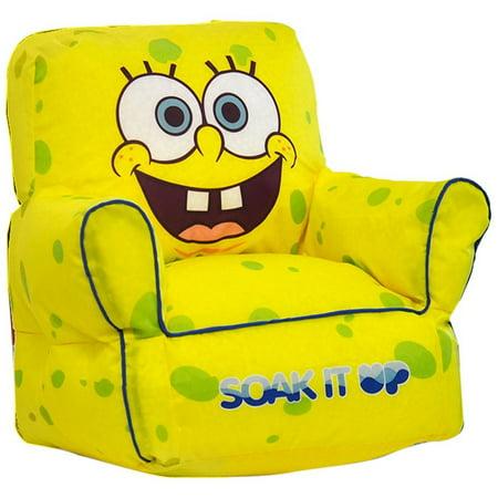 Nickelodeon Spongebob Squarepants Toddler Bean Bag Chair