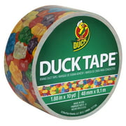 Duck 282498 1.88 in. x 10 Yard Gummy Bears Print Duct Tape