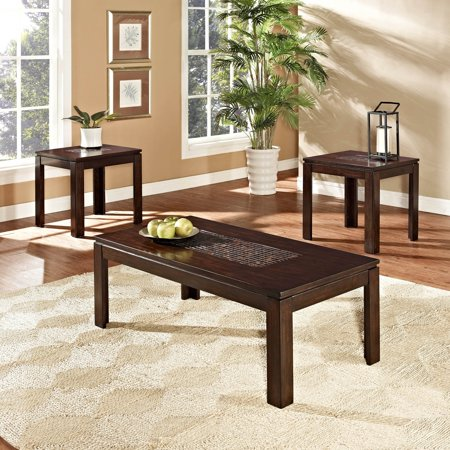 Standard furniture sparkle occasional table collection - Standard coffee table height ...