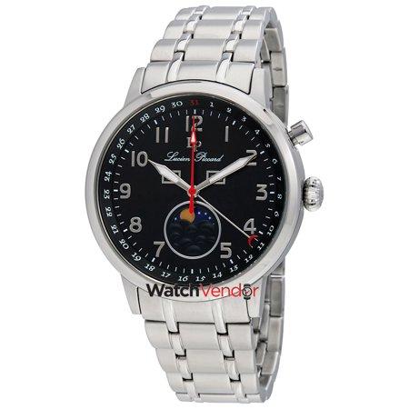 Lucien Piccard Complete Calendar Black Dial Men's Watch 40016-11 - image 3 de 3
