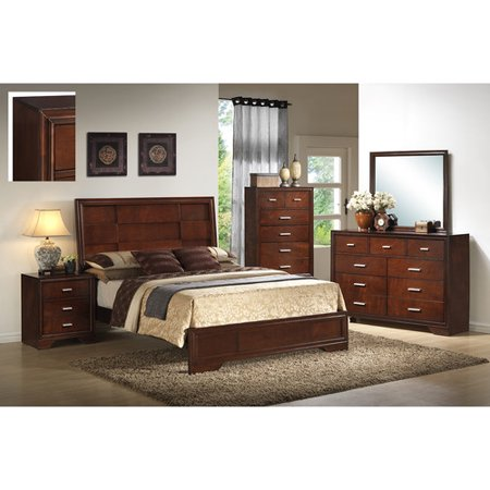 Inroom designs queen panel customizable bedroom set In room designs