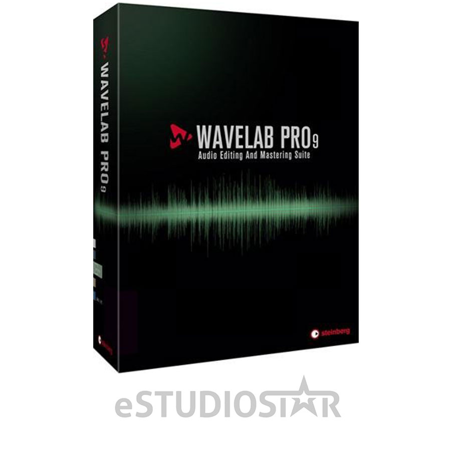 Steinberg WaveLab Pro 9 - Audio Editing and Processing Softwar 46129