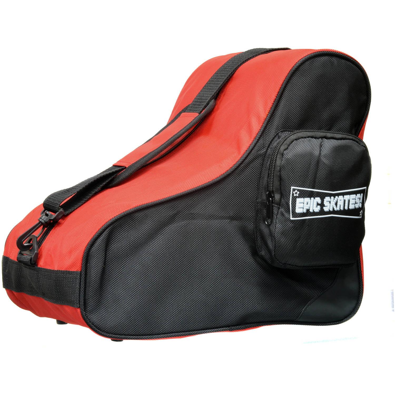 Epic Red Black Premium Skate Bag by Epic Skates