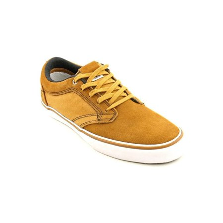 267cda7fc7ce Vans - Vans Mens Otw Type Ii Canvas Leather Skateboarding Shoes Bone brown  - Walmart.com