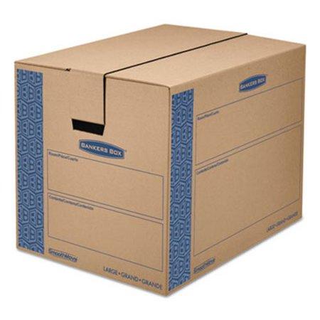 Moving/Storage Box, Extra Strength, Large, 18w x 24d x 18h, Kraft (FEL0062901)
