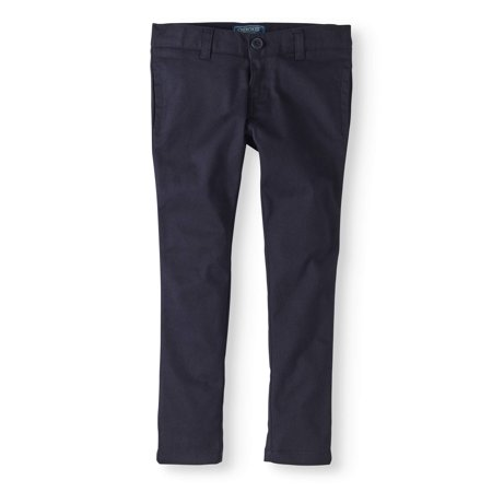 Cherokee girls' school uniform skinny pants