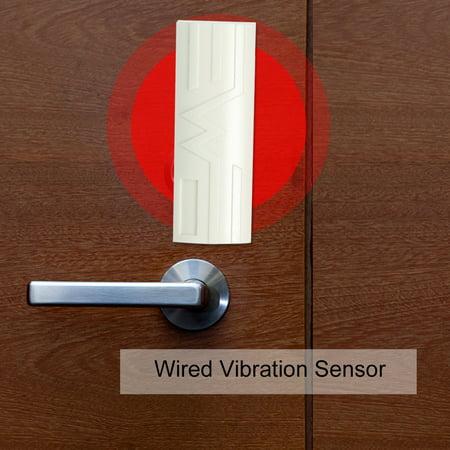 Wired Vibration Sensor Intelligent Digital Outdoor Vibration Shock Sensor for Hardwire Horm Alarm System - image 5 of 7