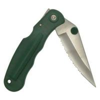 Zenport CSK7008 Folding Pocket Knife, Serrated Blade, 5-Inch