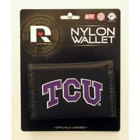 Tcu Horned Frogs Nylon Tri-Fold Wallet