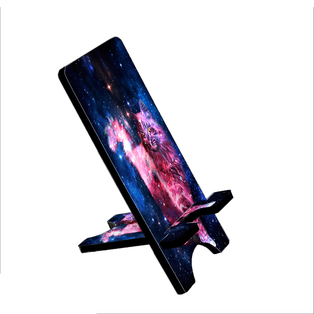 Cat Nebula - KuzmarK Folding Stand fits iPad Mini iPhone Samsung Galaxy