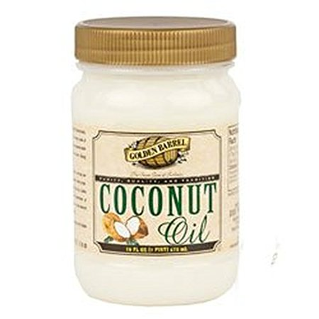Golden Barrel Coconut Oil - 16 Ounce