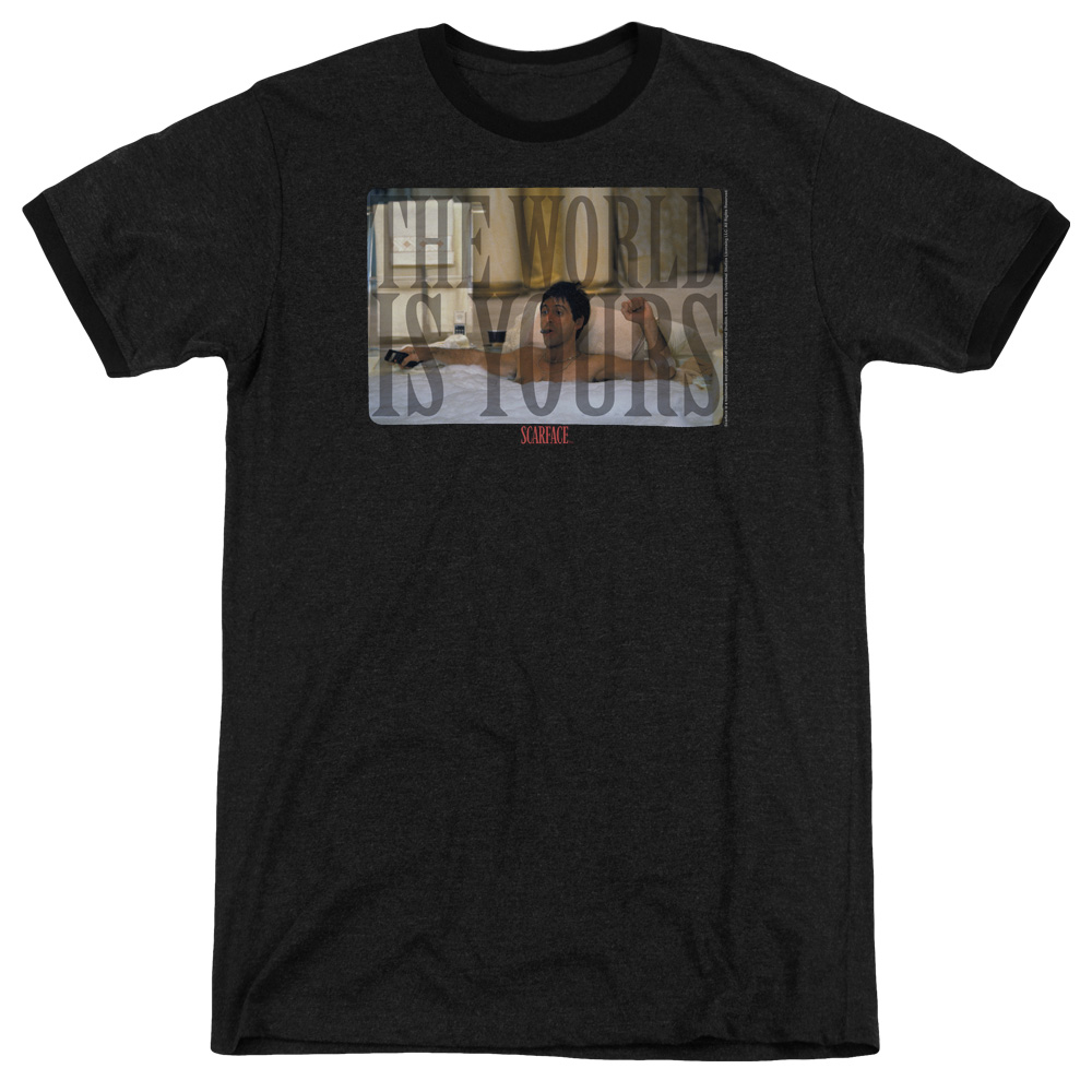 Above Ground Adult Ringer T Shirt Scarface