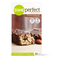 ZonePerfect Protein Bars, Chocolate Almond Raisin, High Protein, With Vitamins & Minerals (12 Count)
