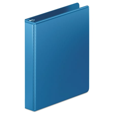 "Wilson Jones Heavy-Duty D-Ring View Binder w/Extra-Durable Hinge, 1"" Cap, PC Blue -WLJ385147462"