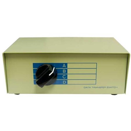 Db15 Switch (Cable Leader DB503-0004 4-Way DB15 Manual Data Switch)