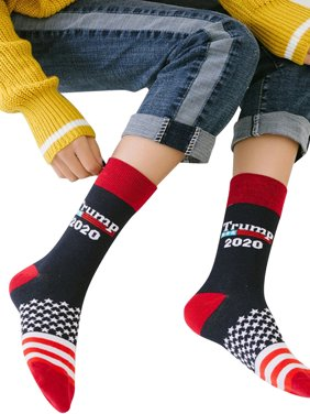 Qtymom Donald Trump 2020 Printed Stocking Socks Christmas Gift