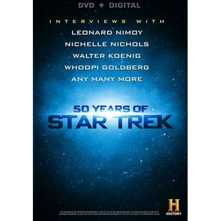 50 Years Of Star Trek (DVD + Digital)