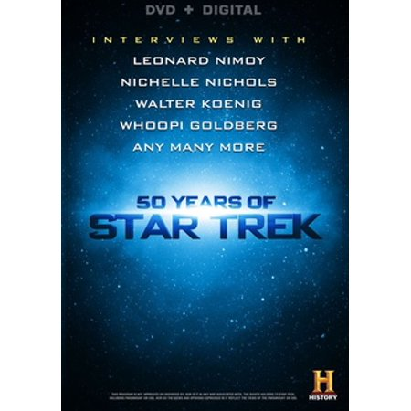Image of 50 Years Of Star Trek (DVD + Digital)