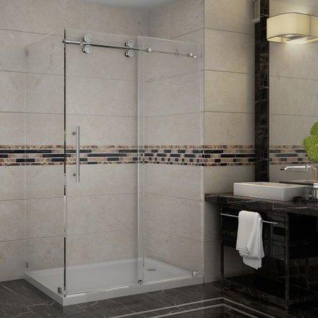 Aston Sen Langham High Frameless Sliding Shower Product Photo