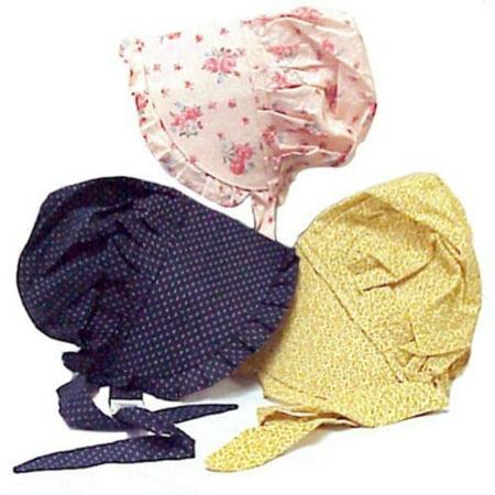 (Medium Childs Print Prairie Sun Bonnet Color Will Vary by Americana)