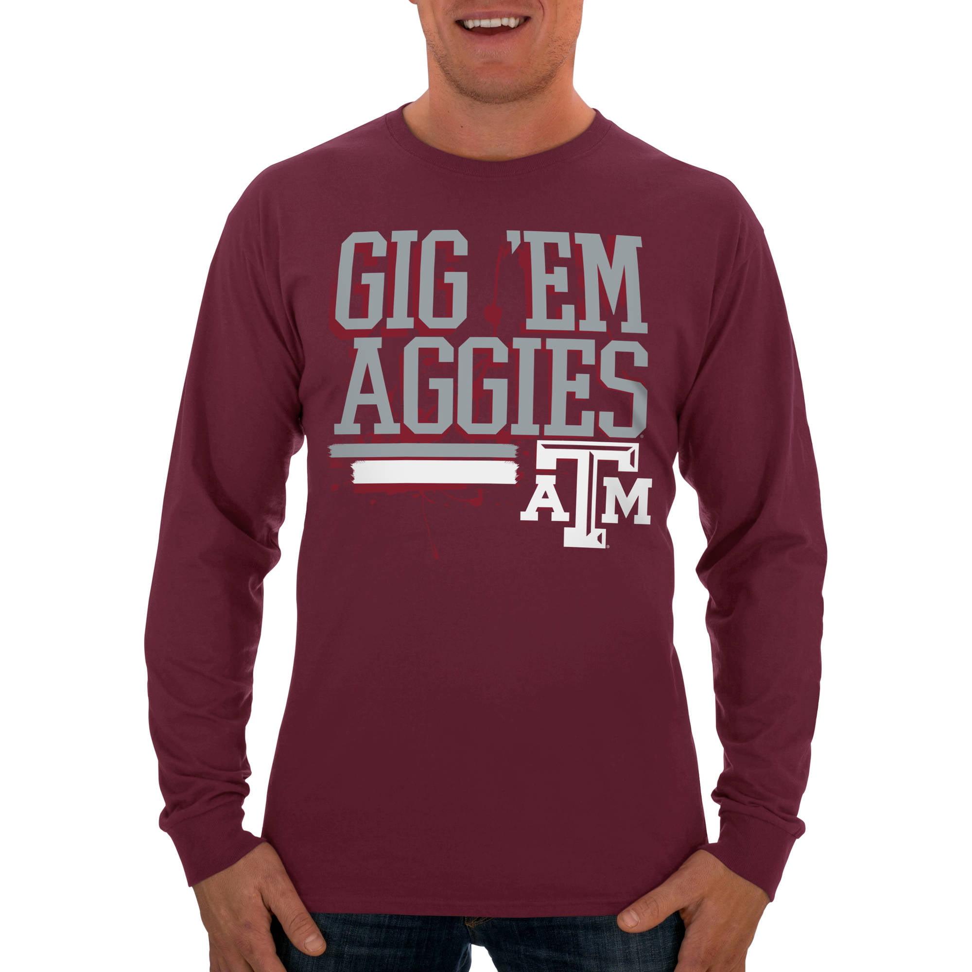 Russell NCAA Texas A&M Aggies Big Men's Long  T-Shirt