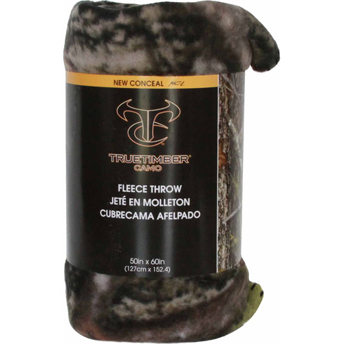 True Timber New Conceal Finished Throw