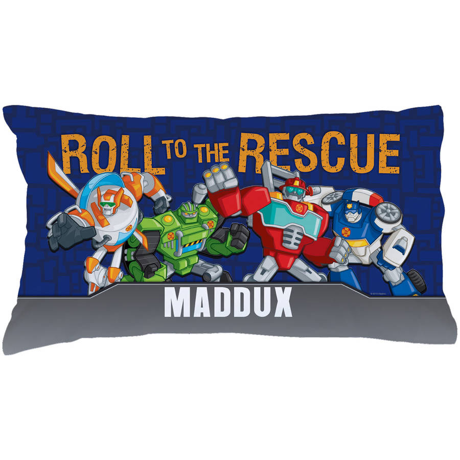 Personalized Transformers Rescue Bots Pillowcase