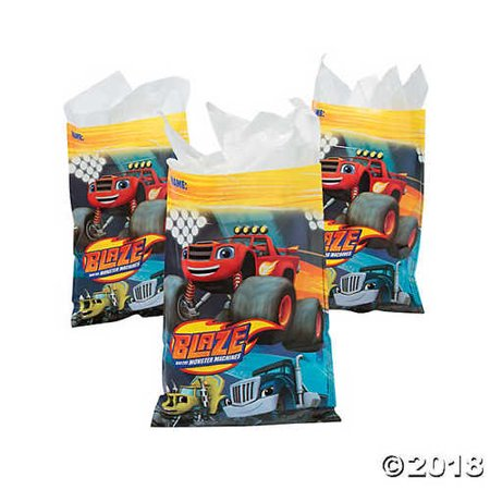 Blaze & the Monster Machines™ Goody Bags - Easy Halloween Goody Bag Ideas
