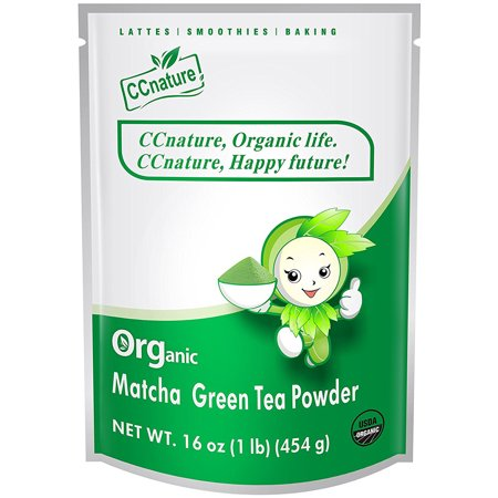 Powder Green Tea - CCnature Organic Matcha Green Tea Powder 16oz