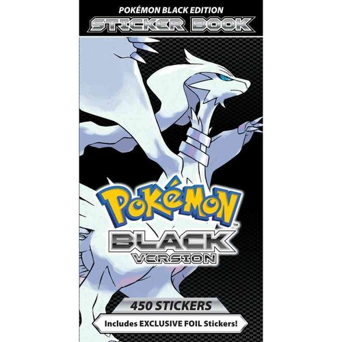 Pokemon Black Version Sticker Book