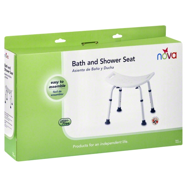 Nova Ortho Med Nova  Bath and Shower Seat, 1 ea