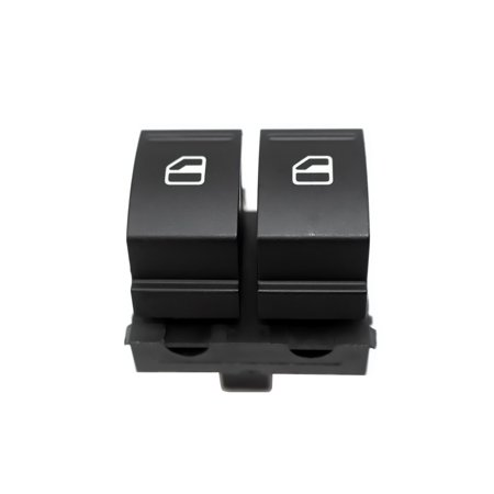 Driver Side Window Switch Front Left Master Control Button for VW Golf MK5 Caddy 2K Jetta EOS