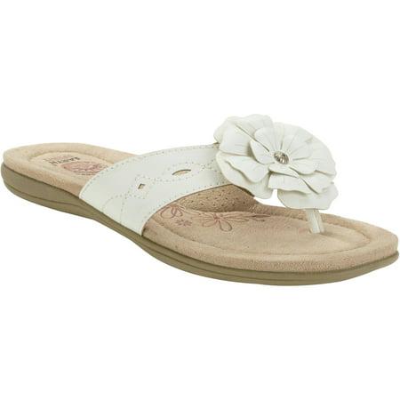 Earth Spirit Womens Flower Sandal by